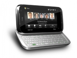HTC - Touch Pro 2 Rhodium - Silver-Black